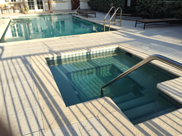 Pool repair customer swimming pool in Delray Beach