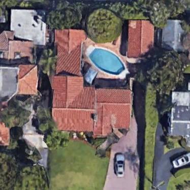 Oblong pool Palm Beach pool installation